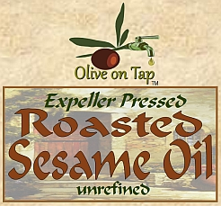 Roasted Sesame Oil from Olive on Tap